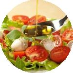 Olive oil as food