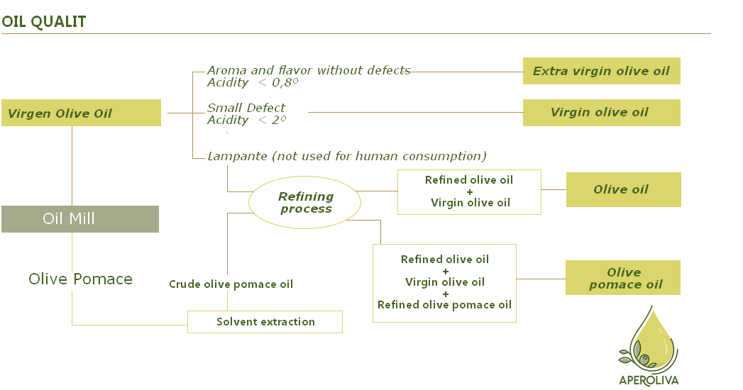 OIL OLIVE QUALITIES